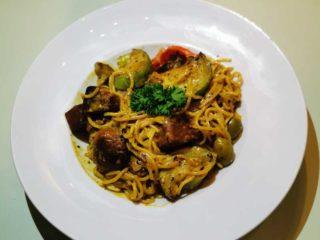 Spaghetti white delivery