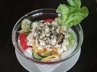 Serbian salad delivery