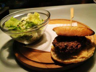 Vege burger retro delivery