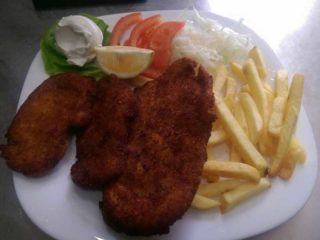 Viennese chicken steak portion delivery