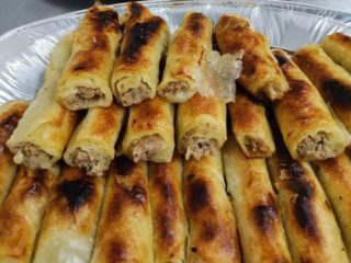 Burek with meat delivery