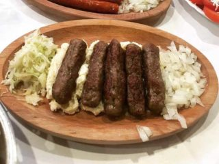 Cevapi on kajmak delivery