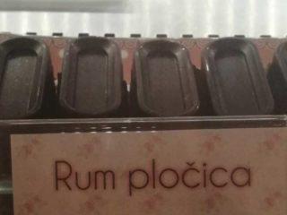 Rum pločica Sweet House Poslastičarnica dostava