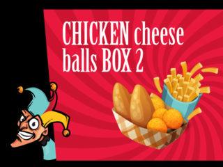 Chicken cheese balls box 2 dostava