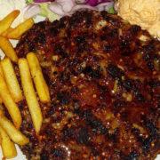 Meraklijska pljeskavica porcija