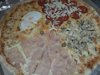 Pizza Quattro stagioni delivery