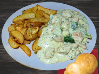 Chicken in gorgonzola sauce dostava