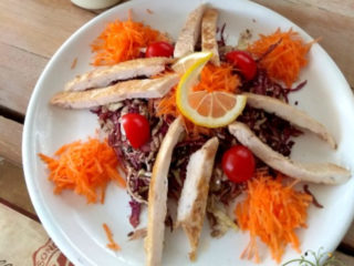 Detox salad with chicken Olive Tree delivery