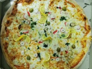 Pizza Frutti di mare delivery