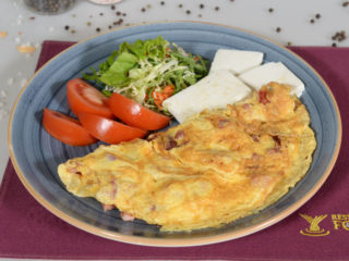 Omelette with bacon Fontana Restoran delivery