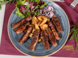 Cevapi in bacon delivery