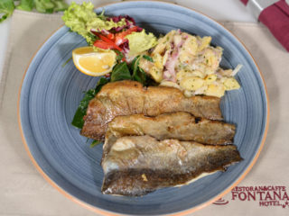 Smoked trout fillets Fontana Restoran delivery