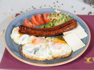 Eggs with sausage Fontana Restoran delivery