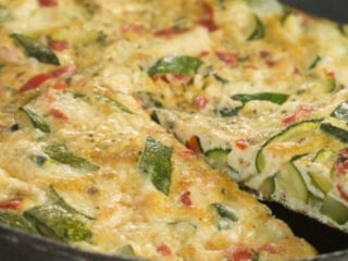 Omellette with vegetables delivery