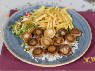 Grilled mushrooms Fontana Restoran delivery
