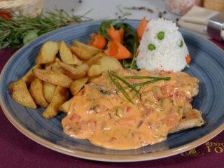 French style chicken breasts Fontana Restoran delivery