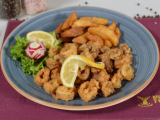 Fried squids Fontana Restoran delivery