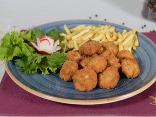 Fried mushrooms Fontana Restoran delivery
