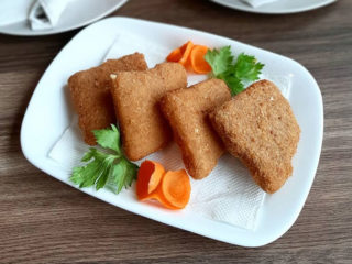 Fried cheese Dobra Klopa 037 delivery
