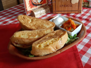 Stuffed french tost delivery