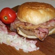 Chauffeur pljeskavitsa bacon