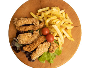 Crispy chicken Jack fast food dostava