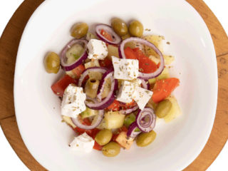Greek salad Jack fast food delivery