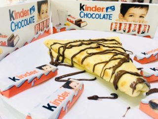 Kinder pancake delivery