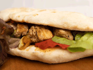 Chicken wrap Jack fast food delivery