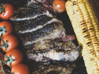 Grilled beefsteak delivery