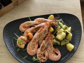 Grilled shrimp E Cucina delivery