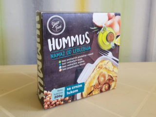 Onion hummus Toledo M delivery