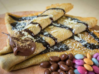 Crepe with nutella Toledo M delivery