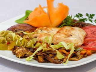 Chicken with grilled vegetables dostava