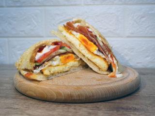 Gurmanski Miročki sendvič Kuhinjica Novi Sad dostava