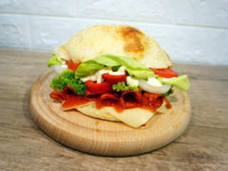 Sandwich with kulen delivery