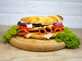 Sandwich with pecenica delivery