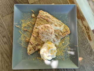 Crepe with cream and plazma Dvorištance delivery