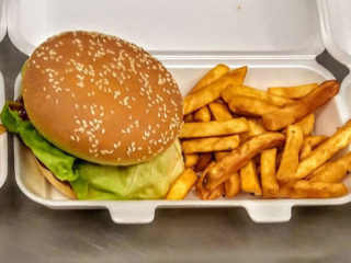 Burger + french fries Ukus i zalogaj delivery
