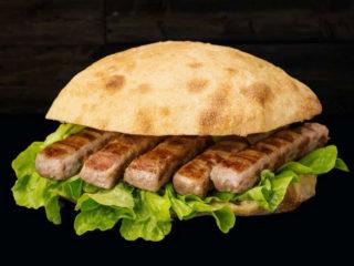 Minced meat fingers u lepinji Daj Dam Grill House delivery