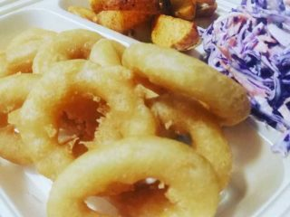 Fried squid rings Samo pohovano delivery