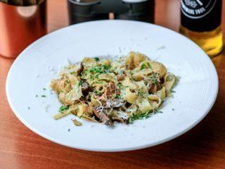 Porcini (vrganji) tagliatelle Delight pasta gastro bar dostava