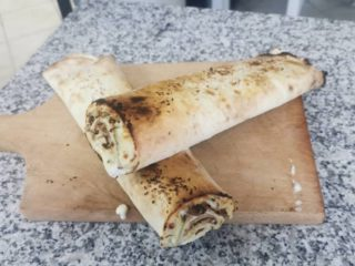Roll sandwich ham Mamadoo Pizzeria delivery