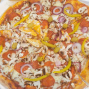 Charlie Brown pizza