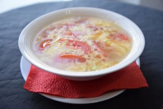 Soup with tomato and eggs dostava