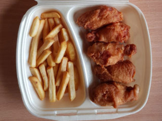 Wings small portion Poh Poh delivery