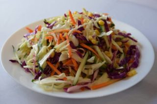 75. Vegetables salad with sesame and Chinese vineger dostava