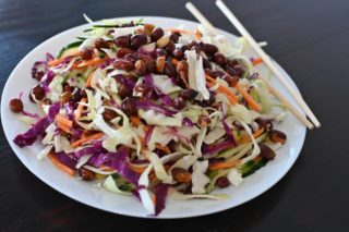 77. Hot cabbage salad with peanuts dostava