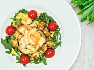 Pileća salata Splav restoran Viva dostava