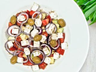 Grčka salata Splav restoran Viva dostava
